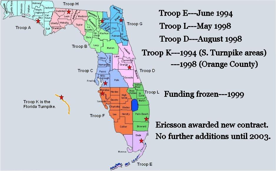 Florida Highway Patrol Traffic >> Florida Highway Patrol 800Mhz Page